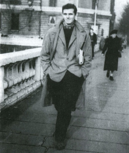Montaldi in Paris, 1953.