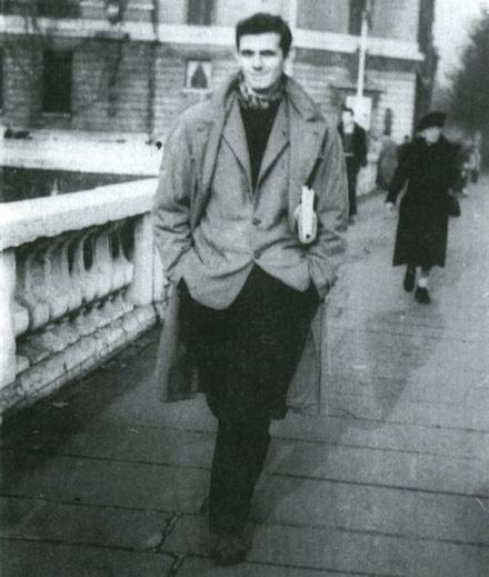 Montaldi in Paris, 1953.