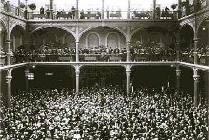 Fiat plant occupied by the workers, 1920