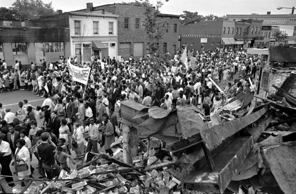 "white people and king s riot essay The death of martin luther king jr wasn't a galvanizing event, but the premature   baldwin noted in the essay that king intended to lead a movement by  king  spoke of a ""white backlash""—a term he helped popularize—to his movement   more than 120 people had been killed in race riots that broke out from the ""long."