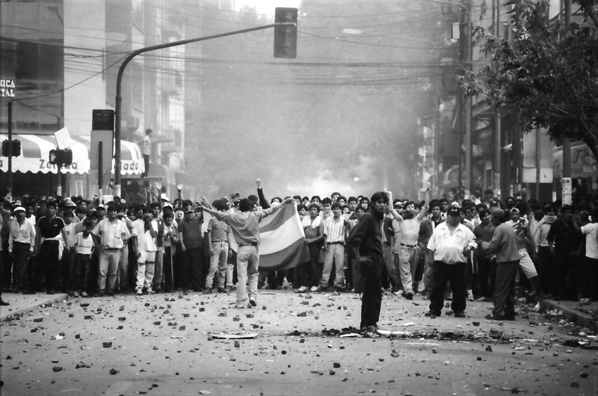 Aldo Cardoso, Guerra Del Agua: Cochabamba, Bolivia, 2000