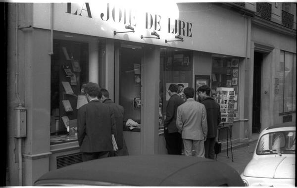 La Joie de Lire, rue Saint-Séverin, Paris