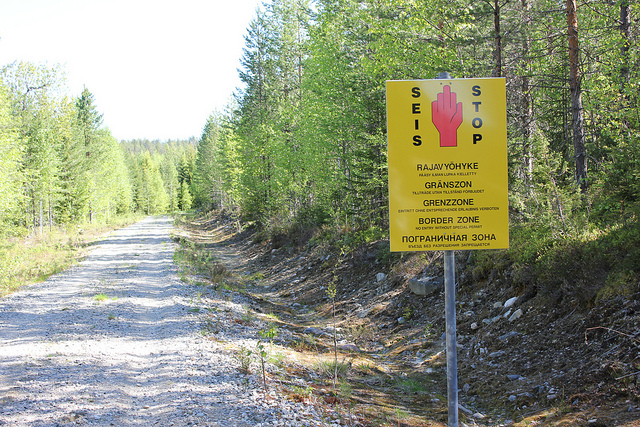 Finnish border (via NH53).