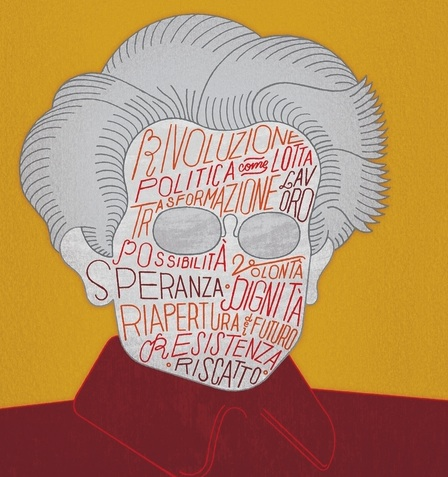Cover art from Diego Fusaro, Antonio Gramsci (Milano: Feltrinelli, 2015).
