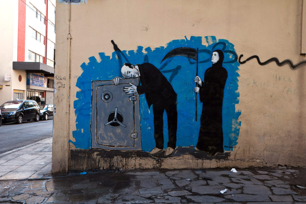 Street art in Athens by Bleeps.gr